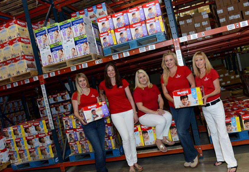 Diaper Drive for Boca Raton Junior League Diaper Bank